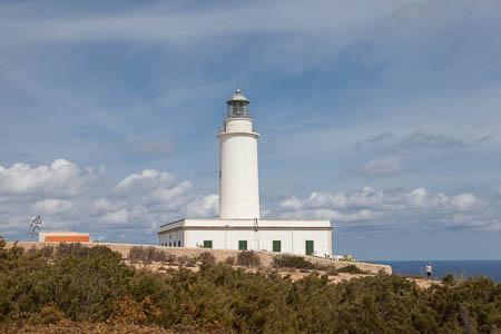 De vuurtoren van La Mola, Formentera