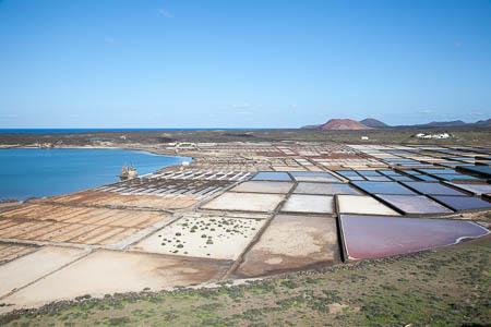 De zoutpannen van Janubio, Lanzarote