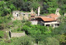 Het verlaten dorp Mili, Kreta