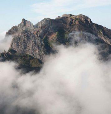 Pico do Arrieiro op Madeira