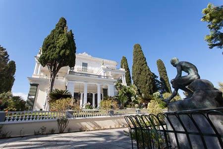 Het paleis van Sissi: Achilleion