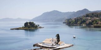 Vlacherna klooster, Corfu