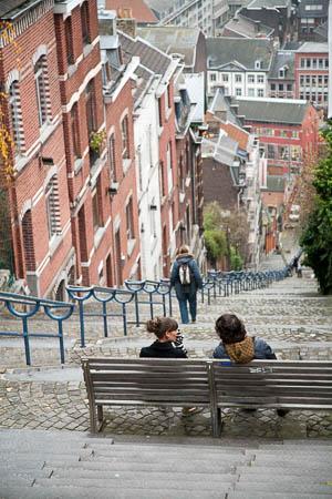 De trappen van Bueren, Luik