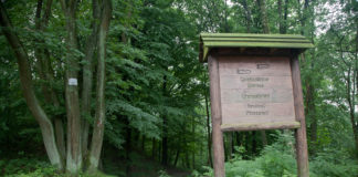 Grensstenen route Neutraal Moresnet