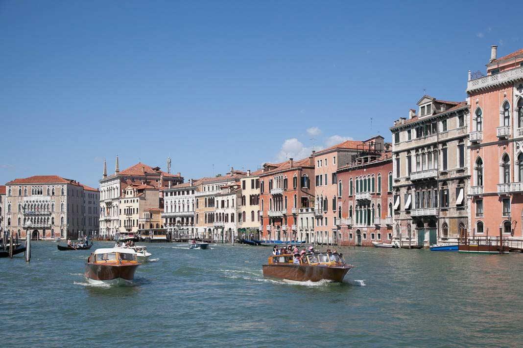 Het Canal Grande in Venetië