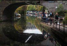 Het Regent's Canal, Londen
