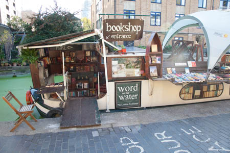 Words on the Water, bookshop London