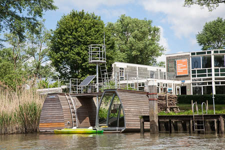 Ecolodge in de Hollandse Biesbosch