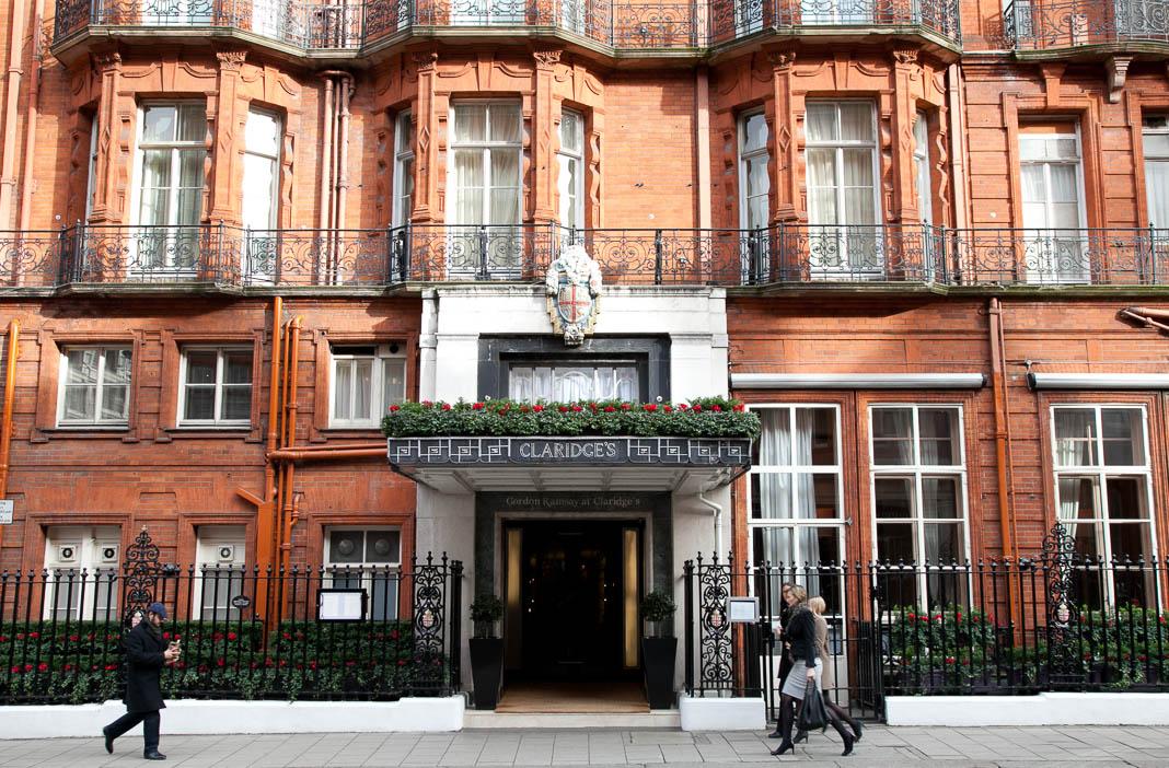 Stadswandeling Londen, Claridge's Hotel
