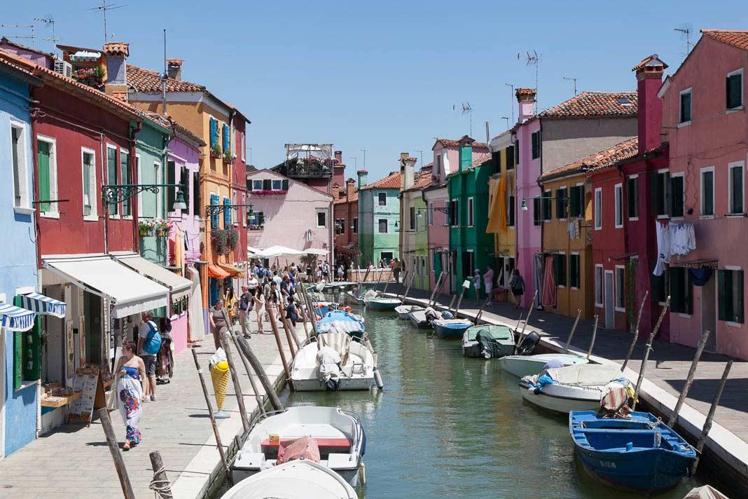 De Eilanden Van Venetie Murano Burano Torcello Wandelingen Info