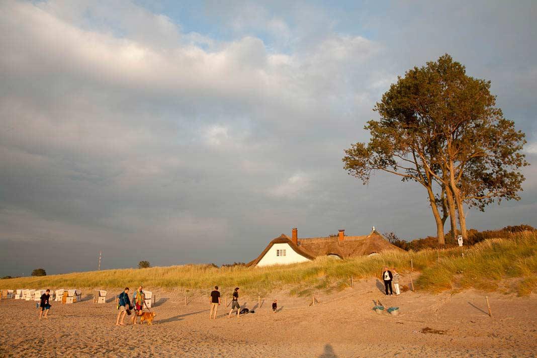 Het strand bij Ahrenshoop
