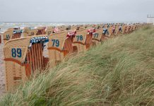 Strandstoelen op Insel Poel