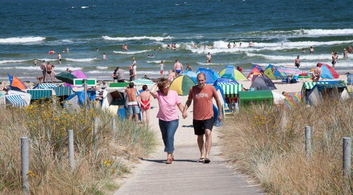 Strand op Rugen