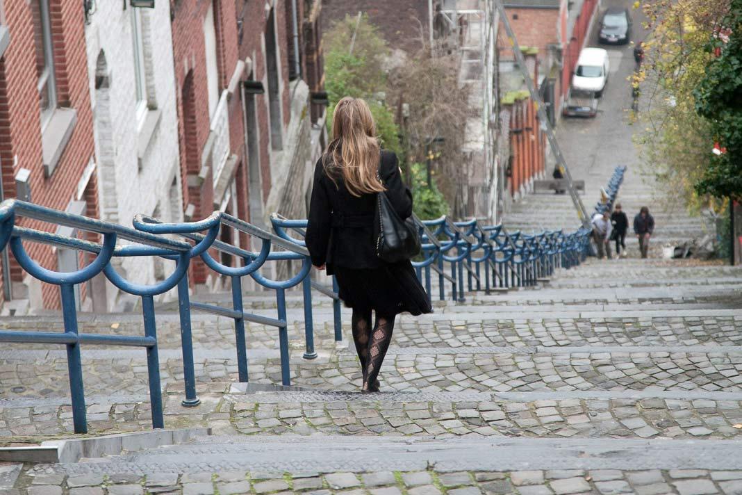De Trappen van Bueren in Luik