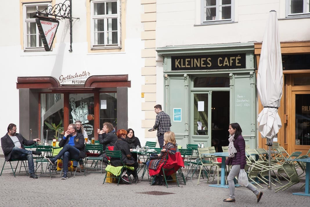 Het Kleines Cafe, Wenen