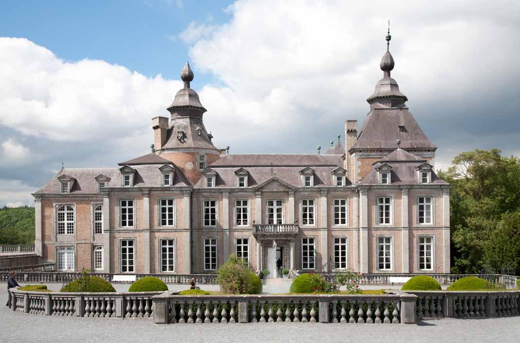 Wandelen in de Ardennen: Chateau de Modave