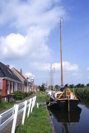 Fietsen langs Friese meren
