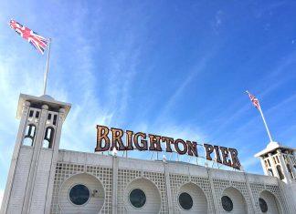 De pier van Brighton
