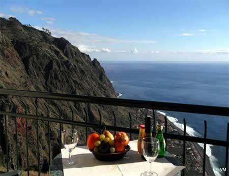 Hotel Vila Mia, balkon met uitzicht