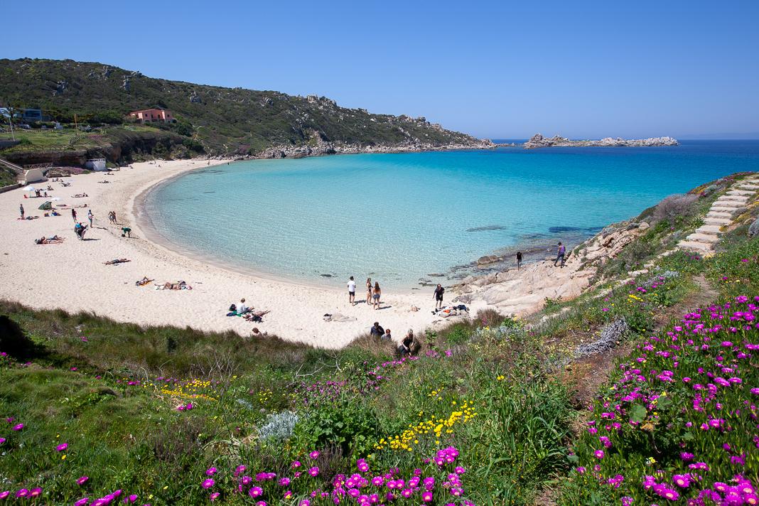 Spiaggia Rena Bianca, Sardinie