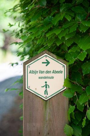 Wandelroute Albijn Van den Abeele