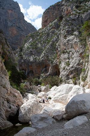 Gorropu-kloof Sardinië