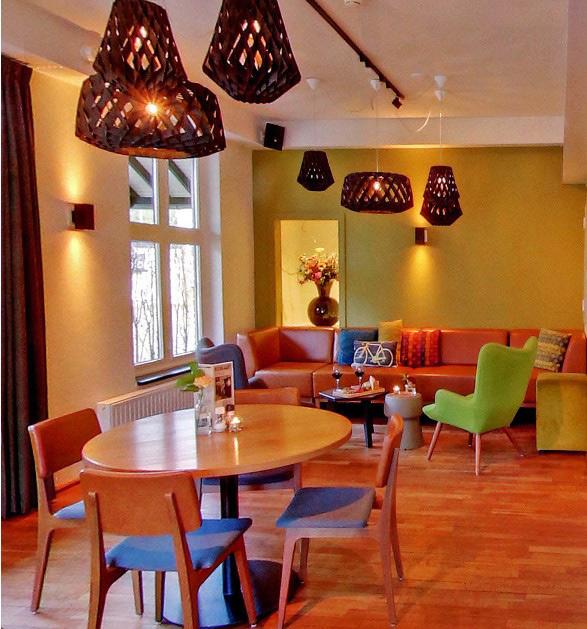 Lounge van Hotel Kruller