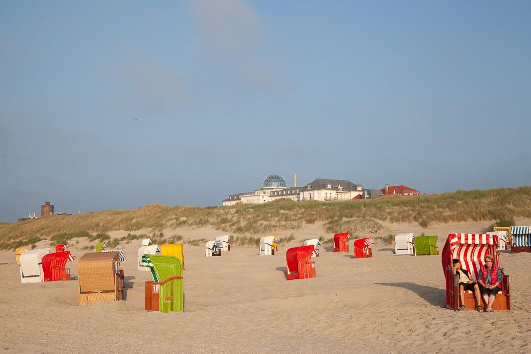 Het strand van Juist