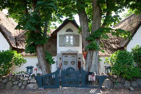 Rietgedekt huis in Keitum, Sylt