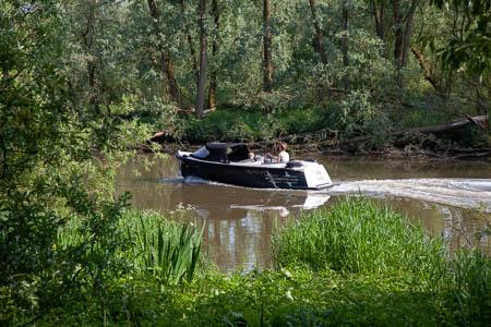 Varen in de Brabantse Biesbosch