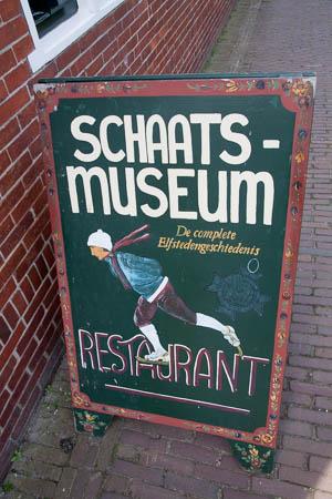 Schaatsmuseum in Hindeloopen