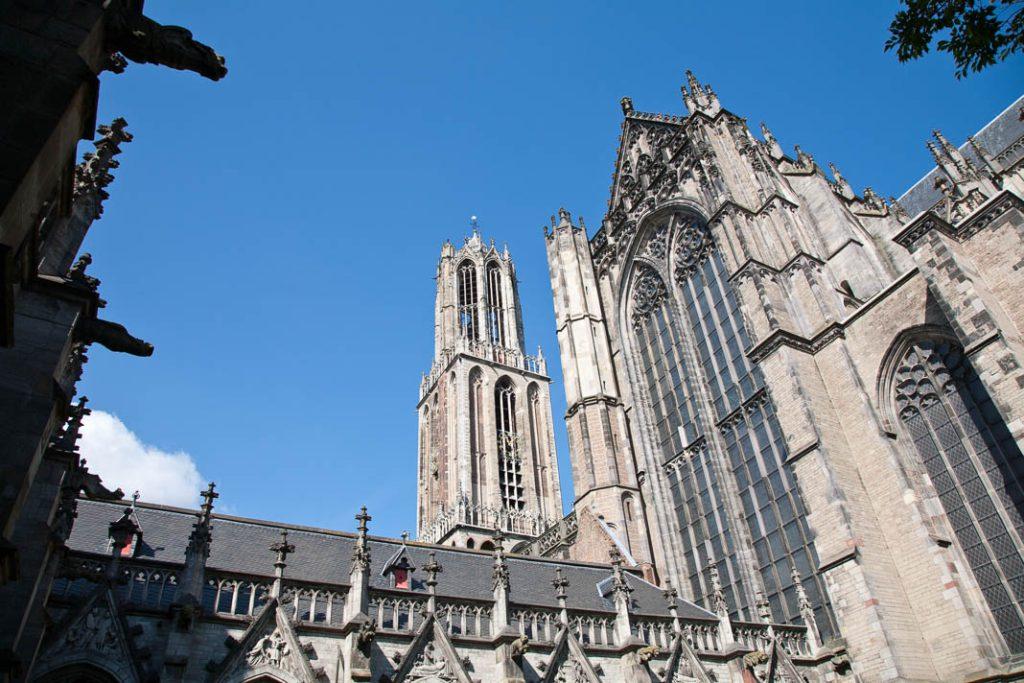 Het pandhof van de Dom in Utrecht