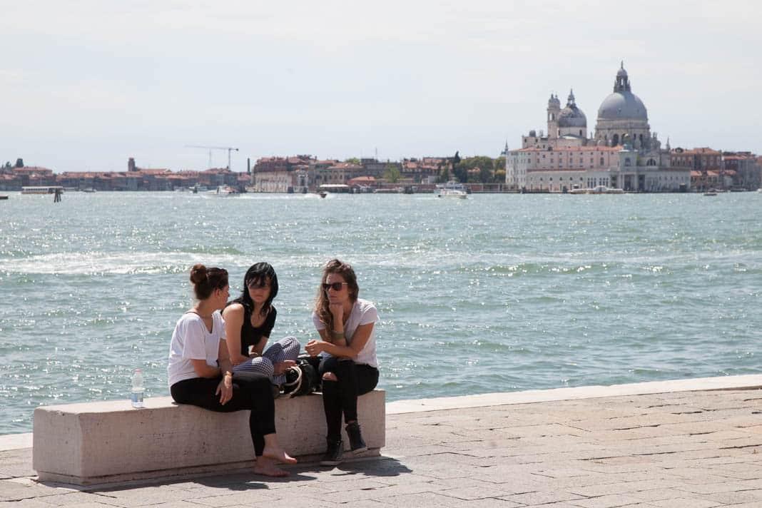 Wandelen in Castello in Venetië