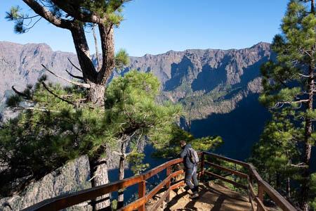 Mirador Las Chozas, Caldera de Taburiente, La Palma