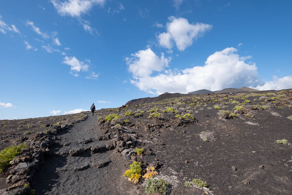 Vulkanisch landschap La Palma