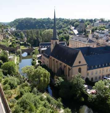Zicht op Grund, Luxemburg-stad