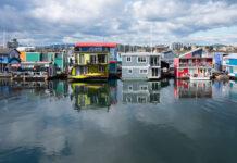 Fisherman's Wharf in Victoria