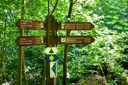 wandelen in Mullerthal