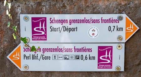 Wandelen in Schengen