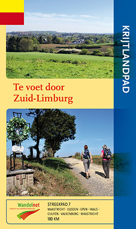 Cover van wandelgids Het Krijtlandpad